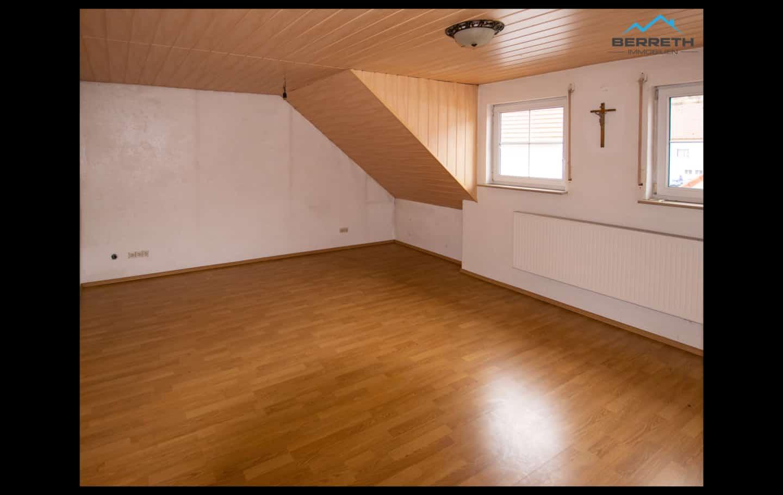 Reihenhaus Burladingen zu verkaufen Schlafzimmer