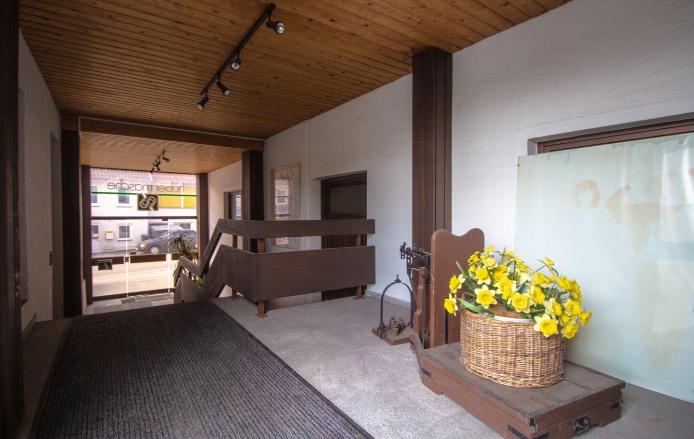 Projektiertes Wohnhaus zu verkaufen Albstadt Lautlingen Eingang