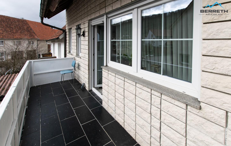 Reihenmittelhaus zu verkaufen in Burladingen Balkon