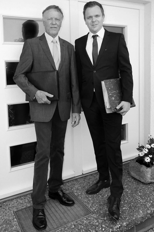Gerhard Berreth und Jürgen Berreth. Die Immobilenmakler aus Hechingen und Filderstadt
