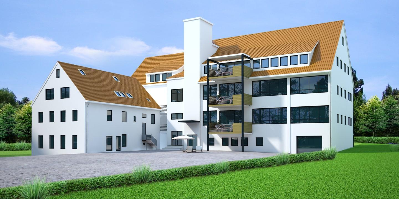 Wohn- und Gewerbeimmobilie mit projektiertem Wohnungsbau (15 Wohnungen) in Albstadt Lautlingen