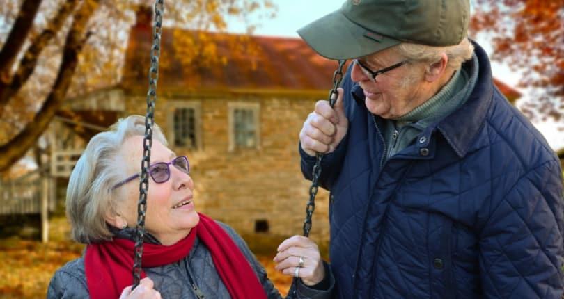 Immobilie in der zweiten Lebenshälfte / im Alter